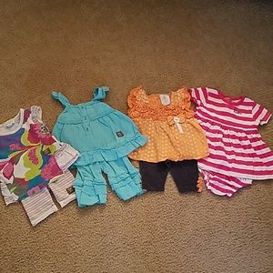 Other - 4 babygirl outfits 3-6 moths